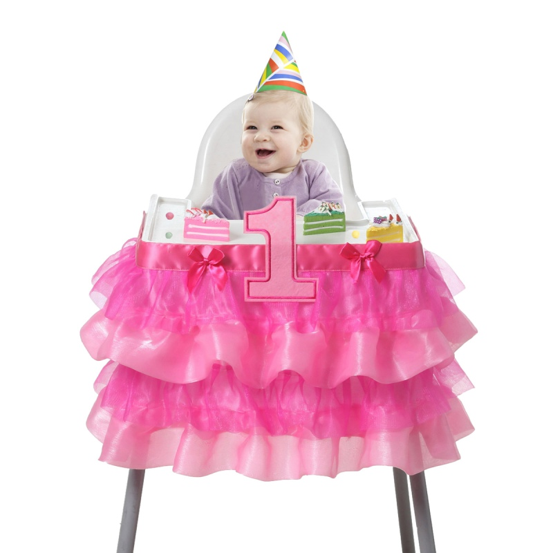New Birthday Deluxe High Chair Decoration Party Supplies