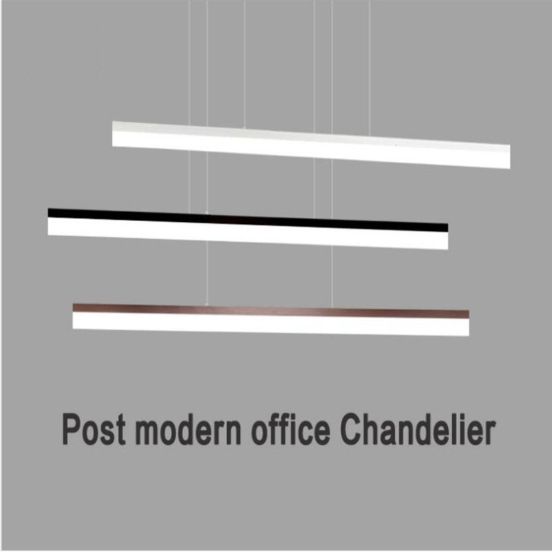 Simple personality office ceiling lamp long strip originality LED modern balcony corridor lighting for bedroom living roomSimple personality office ceiling lamp long strip originality LED modern balcony corridor lighting for bedroom living room