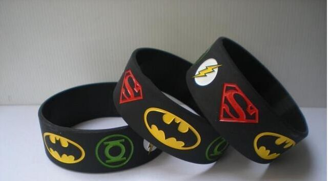 The Avengers Superhero Wristbands Wristband Green Lantern Flash Batman Bracelet