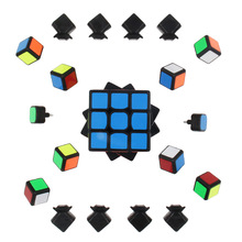 Cube 3x3x3 5.7cm Puzzle stressrelief cube Square Shape Speed Magic for Children Adult Education Toy