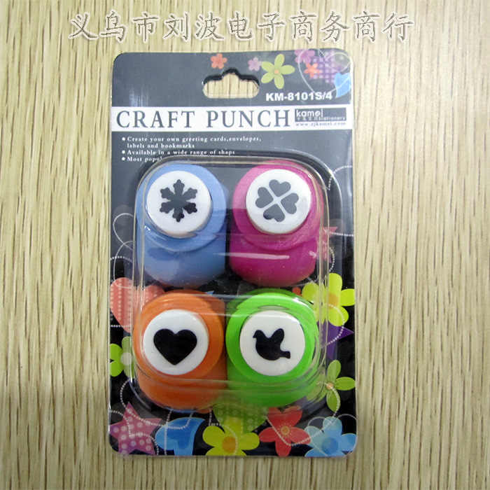 4pcs mini forma craft punch set album accessori piccola macchina di goffratura fiori scrapbook FAI DA TE punzonatrici