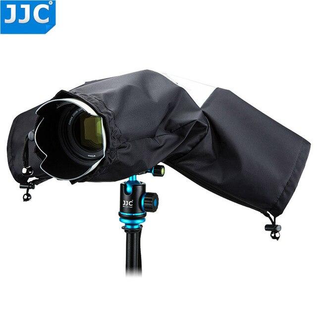 JJC Rain Cover Coat Dust Protector Case voor Nikon D7100 D5500 D5300 D5200 D3300 D90 voor Canon 750D 700D 650D 600D 550D Camera