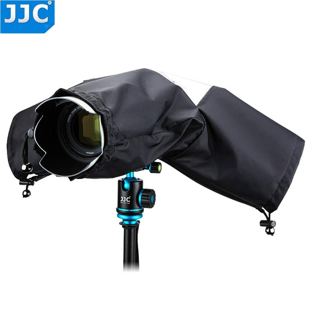 JJC Rain <font><b>Cover</b></font> Coat Dust Protector Case for Nikon D7100 D5500 D5300 D5200 D3300 D90 for <font><b>Canon</b></font> 750D 700D 650D 600D <font><b>550D</b></font> Camera image