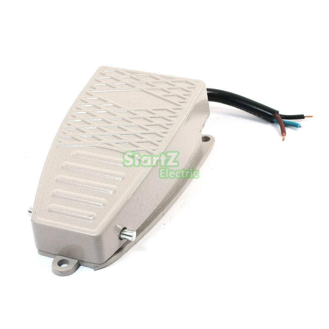 15A SPDT Momentary Control Nonslip Foot Pedal Switch EKW-5A-B [vk] z 01h b switch snap act spdt 100ma 125v switch