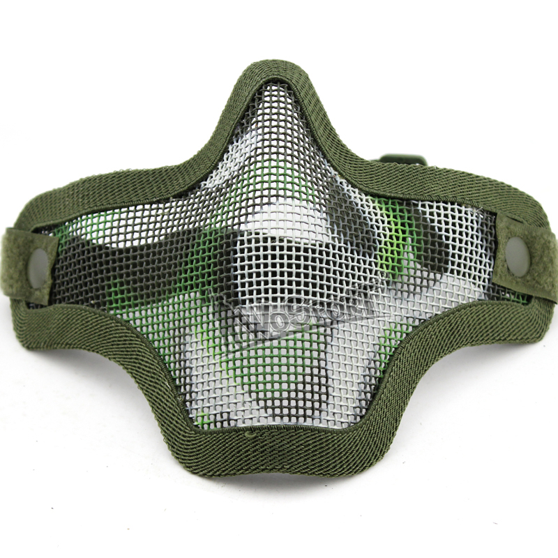 Big SaleßWosport Tactical-Mask for Military Cosplay Airsoft/Paintball/Cs-feild/Game Steel-Net
