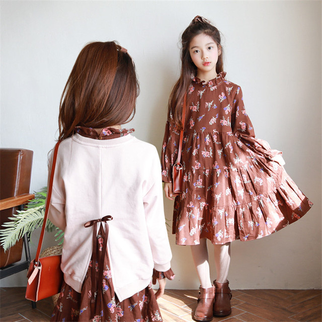 15b5a3969 Spring Winter Baby Girls Clothing Sets 2 Pieces Kids Suit Girls ...