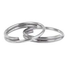 Недорогие 250 разъемные кольца из нержавеющей стали 8 мм горячая распродажа