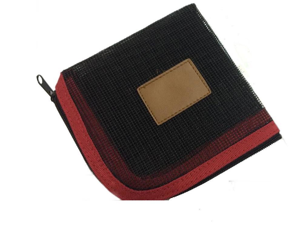 Aventik кошелек для хранения рыболовной лески 5 карманов Вес вперед Fly Line кошелек сумка основная леска Сумка рыболовная леска пакет - Цвет: FLP01 red