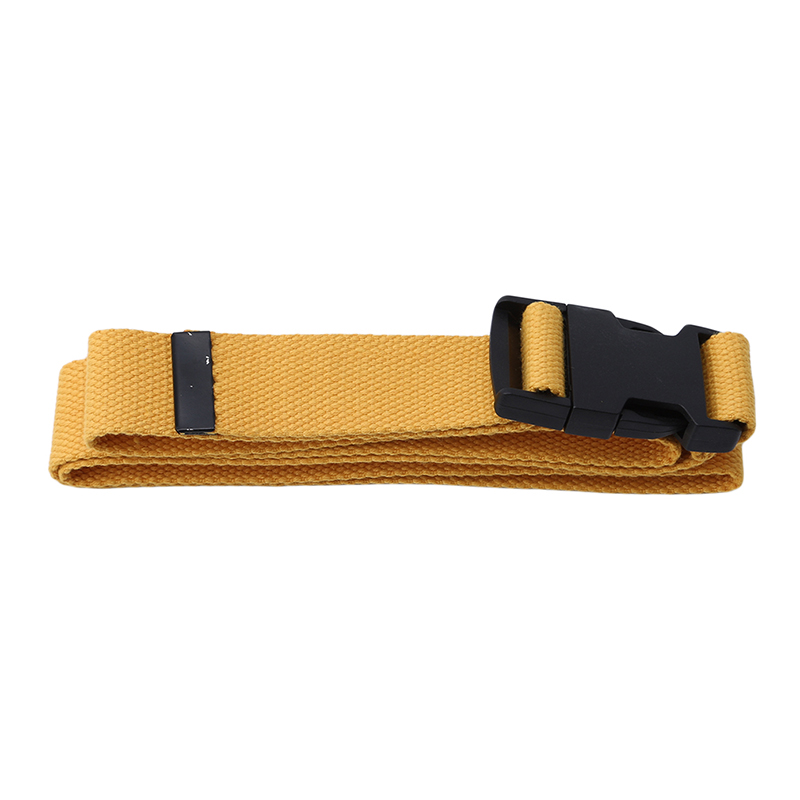 116 см Регулируемый универсальный ремень для девочек и мальчиков унисекс корейский стиль холщовые ремни Harajuku Пряжка сплошной цвет длинный ремень cinturon mujer - Цвет: yellow