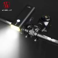 Aluminum XPG Bike Light USB Rechargeable Front Bicycle Headlight Waterproof Night Safety Cycling Lamp 5 Flash Modes Flashlight