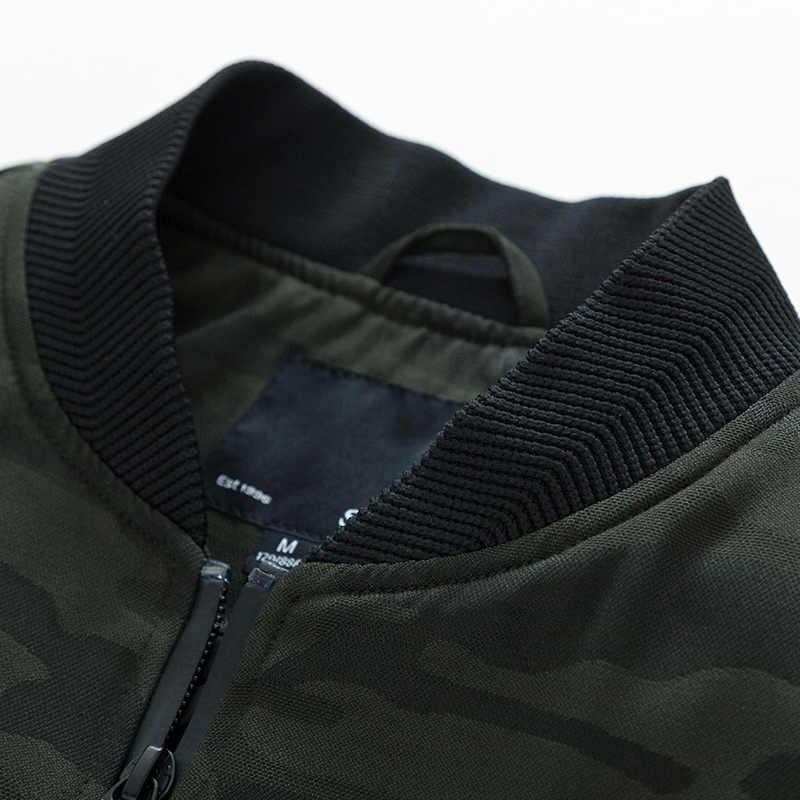 セミール XS-3XL 春の新男性ジャケット爆撃機ジッパージャケット男性カジュアルストリートヒップホップスリムフィットパイロットコート男性服