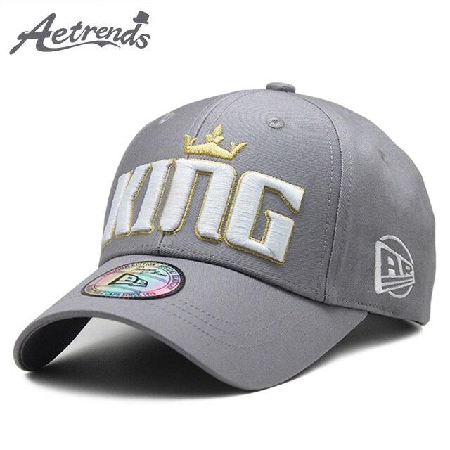 5dc6c656853  AETRENDS  2018 High Quality Pure Cotton Baseball Cap Men Women Outdoor  Sport Caps Snapbacks