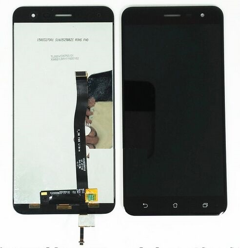 ФОТО Black 5.5 inch Full LCD Display + Touch Screen Digitizer Glass Assembly For Asus ZenFone 3 ZE552KL Z012DE Free Shipping