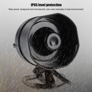 Image 4 - Electronic Sound Horn Loud Speaker Truck Warehouse Alarm Siren Support MP3 Playback SD Card IP65 Level Protection
