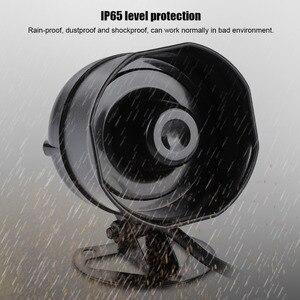 Image 4 - אלקטרוני קול צופר רמקול חזק משאית מחסן מעורר סירנה תמיכה MP3 השמעת SD כרטיס IP65 רמת הגנה