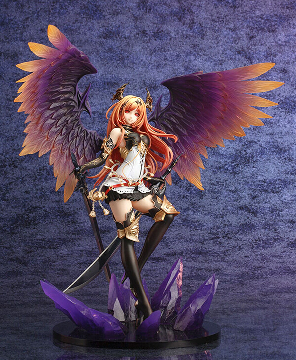 29cm Kotobukiya Rage Of Bahamut Dark Angel Olivia Action Figures PVC brinquedos Collection Figures toys for christmas gift29cm Kotobukiya Rage Of Bahamut Dark Angel Olivia Action Figures PVC brinquedos Collection Figures toys for christmas gift