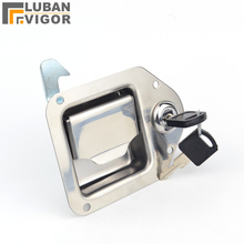Toolbox-Lock Trailers Auto-Parts Automobile Stainless-Steel Square-Lock/wrecker Rvs 6205