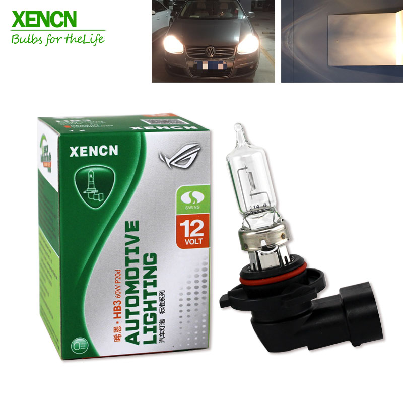 XENCN HB3 9005 12V 60W 3200K Clear Series Original Car Headlight Halogen Bulb Auto Fog Lamps for Honda OEM Long Lifetime 2pcs xencn h7 px26d 12v 100w 3200k clear series off road standard car headlight halogen bulb uv quartz brand auto lamp for mazda cx 5