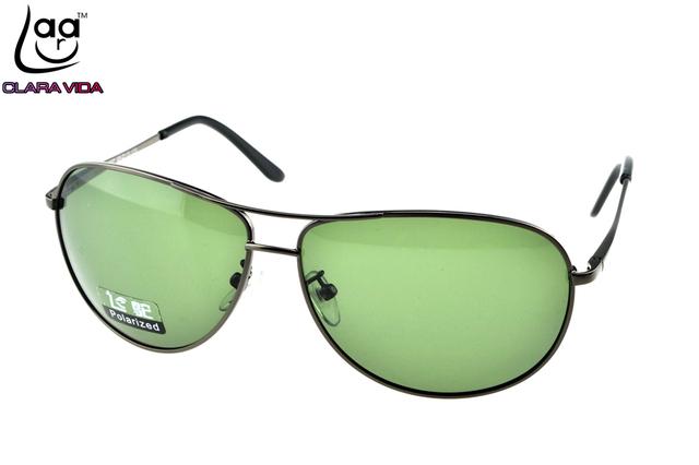 = = Clara vida miopía polarizado gafas de sol de doble puente de diseño por encargo miopes de prescripción menos sunglasses-1 to-6