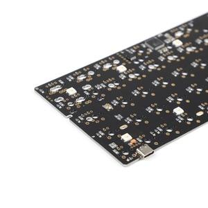 Image 3 - GH60 64 Minila PCB באופן מלא לתכנות עבור DIY מכאני מקלדת YD60 פוקר HHKB תמיכה LED