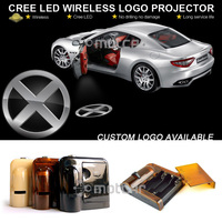 Auto Car Door Step Ground CREE LED Welcome Laser Projector X Men Logo Ghost Shadow Puddle