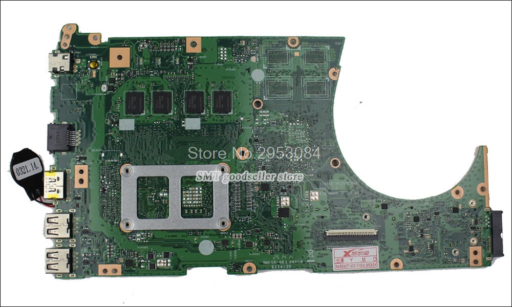 For ASUS K551L K551LA S551LA Motherboard S551lB REV2.0 Mainboard W// i3-4010 CPU