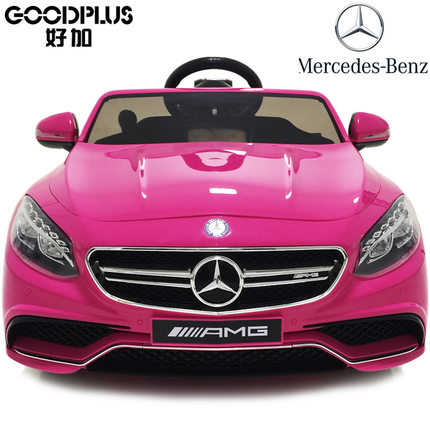 Electric Car For Kids Ride On With Remote Control And Music Benz Baby Children Gift