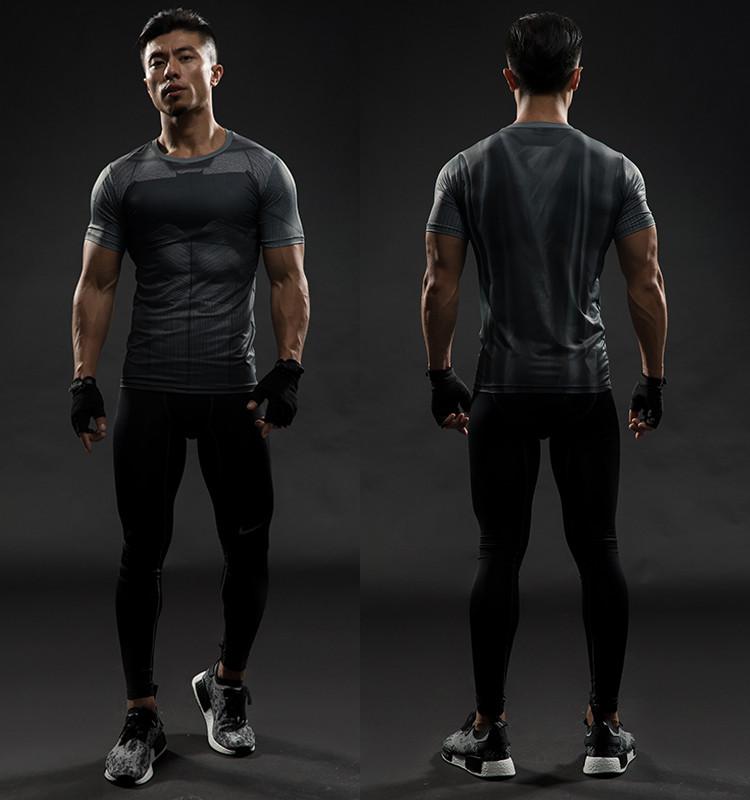 3efde65930942 Camiseta Homem de ferro Capitão América Guerra Civil Tee 3D impresso ...
