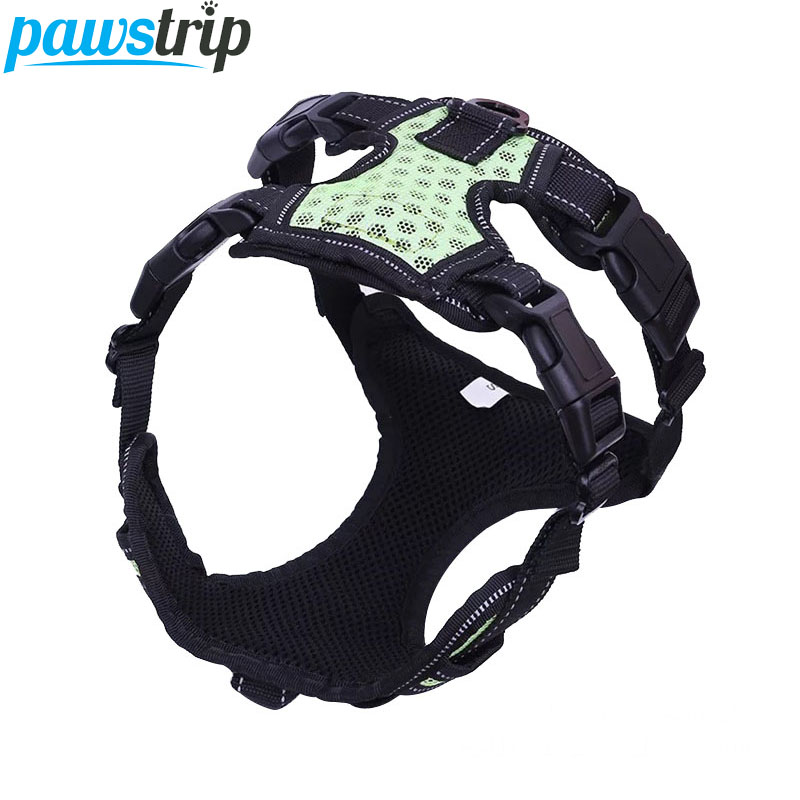 pawstrip 4 Colors Walking Hiking Pet Dog Vest Harness Breathable Mesh Dog Harness Puppy Chest Strap S/M/L