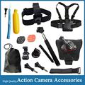 Gopro Accessories Chest Head Hand Strap Monopod Floating Bobber Mount for Hero 4 Xiaomi Yi Action Camera SJCAM SJ4000 EKEN H9