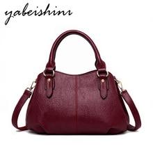 Ladies Handbag Shoulder Messenger Bag Casual Messenger Bag High Quality Leather Luxury Brand Designer 2019 Fashion Solid Color все цены