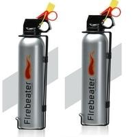 2 pcs Novelty Car Use Powder Fire Extinguisher Lightweight Portable Fire Extinguisher Suitable for Auto Laboratories Hotel
