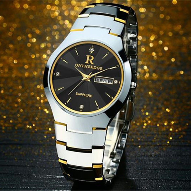 reloj hombre Mens Watches Top Brand Luxury Waterproof Sport Watches Men Clock Dress Men's Quartz calendar date Watch Male Hours kinyued top brand luxury watches men luminous sport men s watch steel male clock men quartz wristwatches reloj hombre 2017 saat
