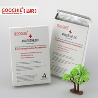 Goochie Anesthetic Tattoo Permanent Makeup Anesthetic Topical Operation Painless Lip Gel Patch10pcs Lot