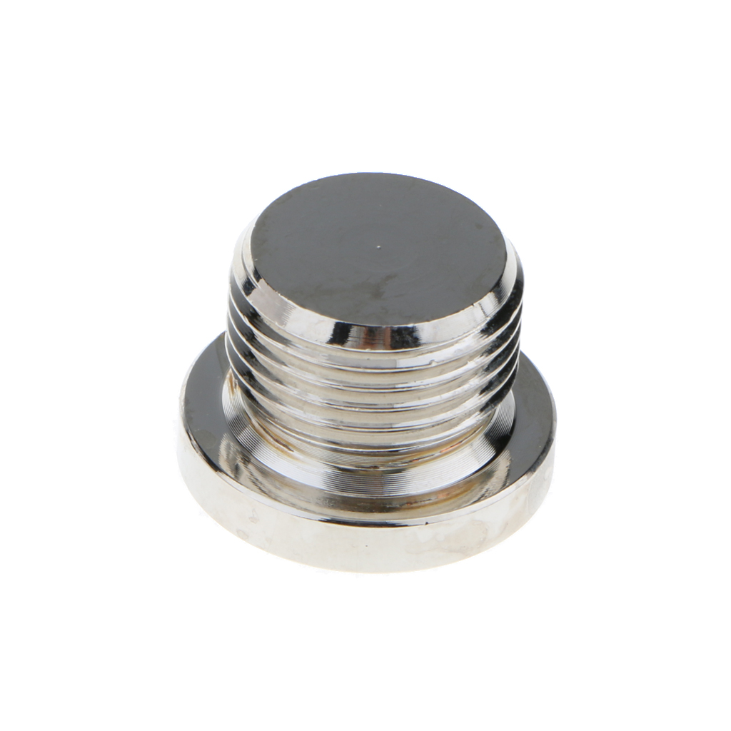 M18x1.5 Thread JX0006  Iron&Electroplated Nickle Hex Bolt Bung Plug Head Exhaust for Oxygen Sensor