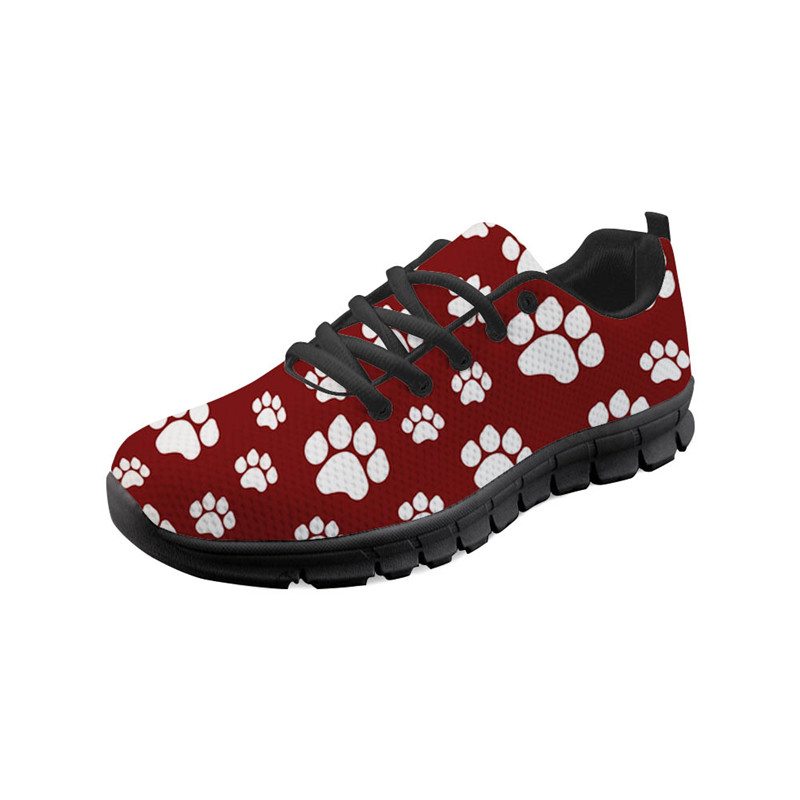 12. Light Weight Sneakers for Women Breathable Jogging Running//Gym Shoes Pet By You Bichone Frise On Pink 3D Printed Sneakers US Sizes 5 Women Sneakers