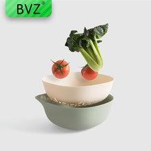 Bvz 4 вида цветов корзина с двойным сливом миска для мытья кухонного