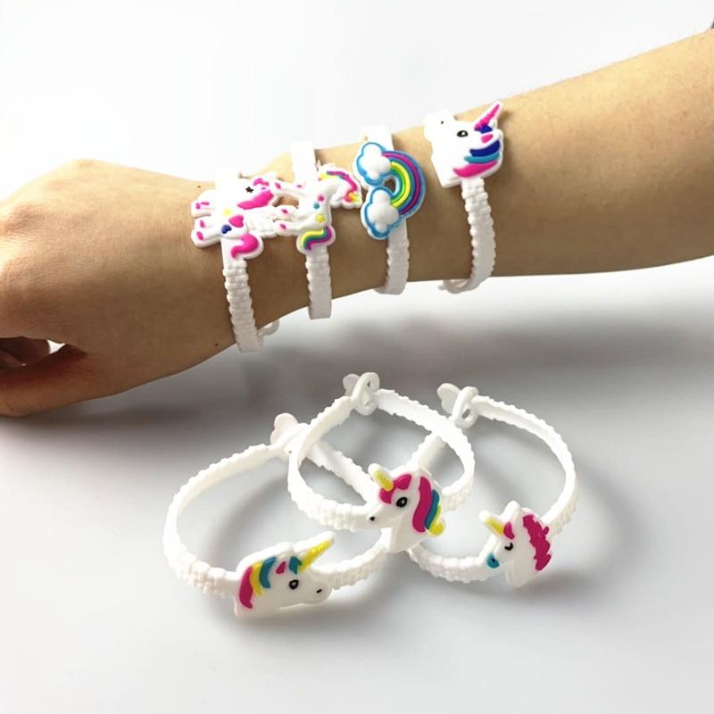 6Pcs//lot Little Mermaid Bangle Bracelet Party Party Favors Birthday Decor  Gift