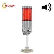 LTA-505AJ-1 Waterproof multi-layer lights IP65 for machine steady lighting with sound 90db round bottom DC24V