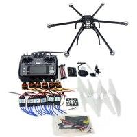 DIY 2,4 ГГц шесть оси Hexacopter Drone Kit с Радиолинк AT10 передатчик RX APM 2,8 Полет контроллер безщеточный f10513 G