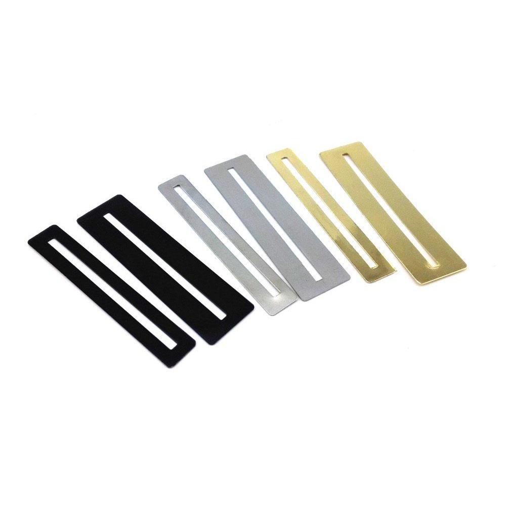 New 3 Pairs Gold Silver Black Guitar Bass Fingerboard Guards Fret File Cleaning Tool Attractive And Durable Stringed Instruments Musical Instruments