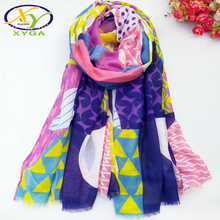 1PC New Cotton Women Long Scarf Soft 2019 Spring Thin Summer Ladys Viscose Shawls Colorful Female Wraps Autumn Muslim Kerchief