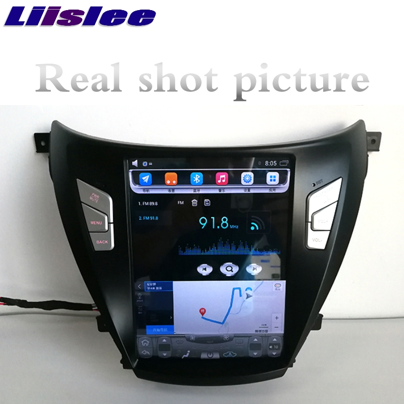 For Hyundai i35 Elantra Avante MD UD 2011~2015 NAVI LiisLee Car Multimedia Player GPS Maps WIFI Audio CarPlay Radio Navigation 5