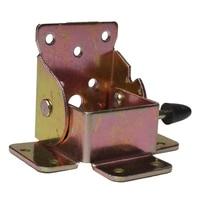 4pcs Iron Folding Table Leg Brackets Foldable For Table Chair Extension Tables Foldable Self Locking Fold