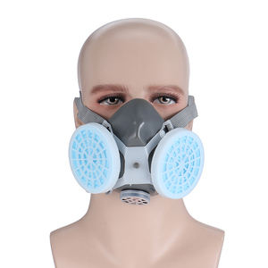 Image 4 - 0701 Painting Dust Mask High Quality Protection Gas Mask Anti fog Haze Industrial Dust Woodworking Polishing Mask Respirator
