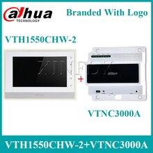 """Сетевой видеорегистратор Dahua VTH1550CHW-2 видео домофон 2-проводной IP Крытый монитор """" TFT Сенсорный экран с VTNC3000A 2-провод сетевой контроллер"""