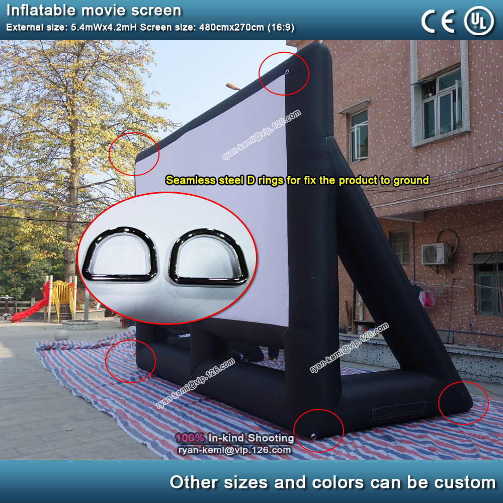 D-ring-at-inflatable-movie-screen-for-tie-down