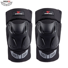WOSAWE Motorcycle Knee Pads Motocross Motorbike Moto Anti-drop Brace Outdoor Sports Protection Gear accessories