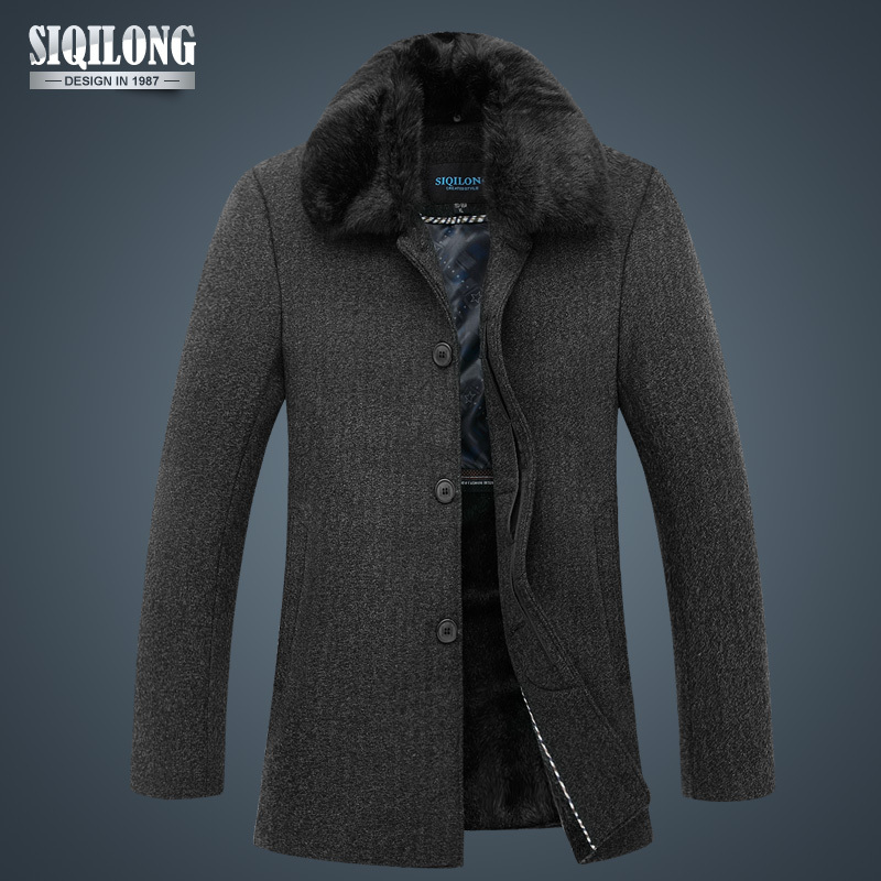 9bb6a56fc966e New Stylish Mens Winter Parka Outdoors Jackets Windcheater Casual Fur Coat  Brand Outercoat Sport Jacket Snow Men Overcoat