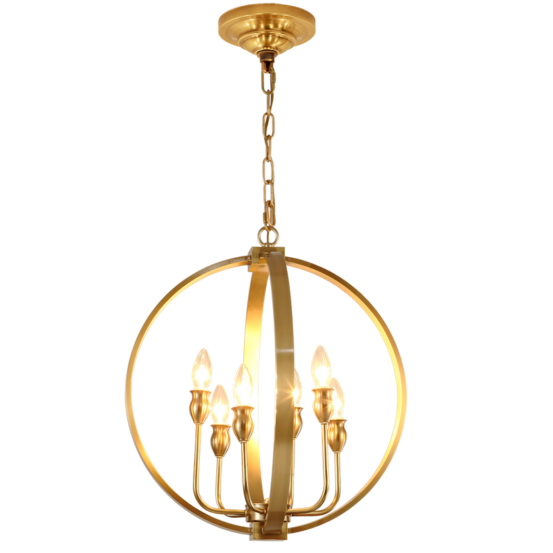 brass copper lantern hanging pendant light fixture modern nordic 6 e14 lights ce rohs saa etl approved cage drop light high quality 30w led pendant light with ce emc saa rohs gs ul
